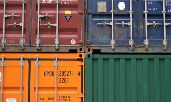 Spedizioni internazionali merci containers